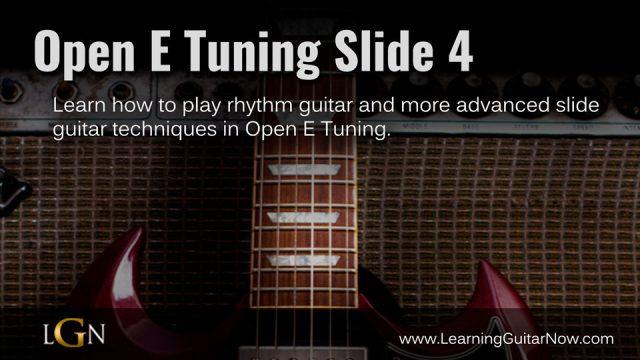 Open E Tuning Slide 4