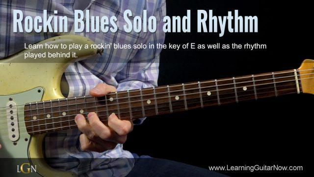 Rockin' Blues Solo and Rhythm