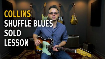 Collins Style Blues Solo – Podcast 48