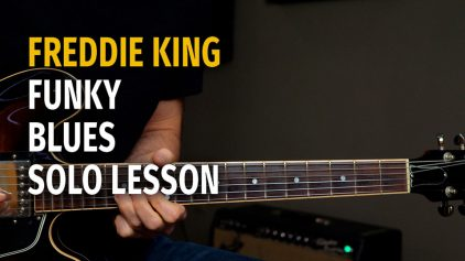 Freddie King Style Funky Blues Solo – Podcast 61