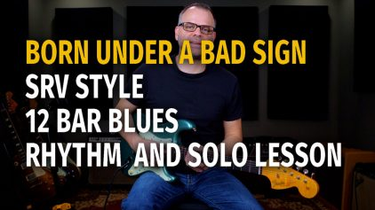 SRV Bad Sign Style Rhythm and Solo – Podcast 68