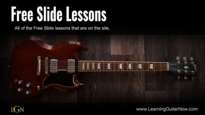 Derek Trucks Open E Slide Lesson Part 1