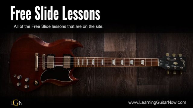 Open E Slide Slow Blues Solo
