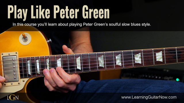 Play Like Peter Green