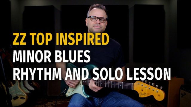 ZZ Top Inspired Minor Blues Podcast 71