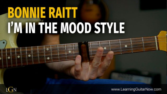 Bonnie Raitt In The Mood Style – Podcast 75