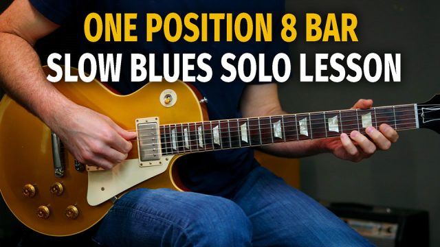 One Position 8 Bar Blues Solo Lesson – Podcast 77