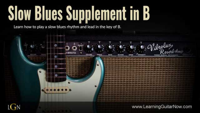 Slow Blues Supplement in B