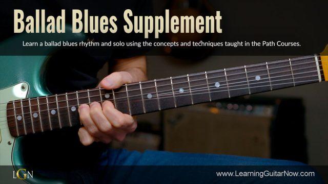 Ballad Blues Supplement