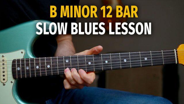 12 Bar Minor Slow Blues – Podcast 83