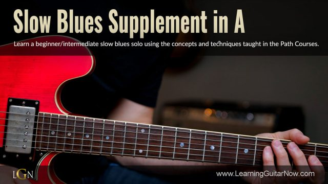 Slow Blues Supplement in A